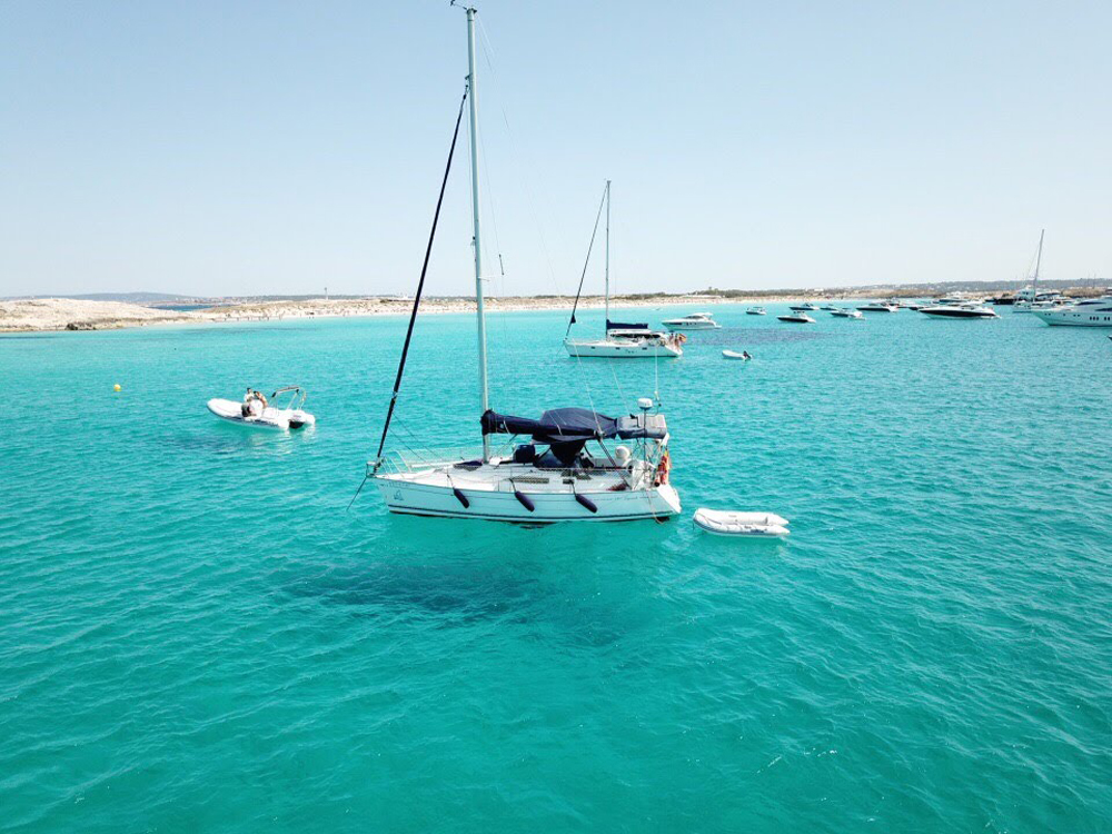 El Virazon en Illetas Formentera