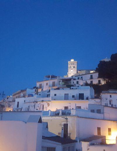 La ciudad de Ibiza