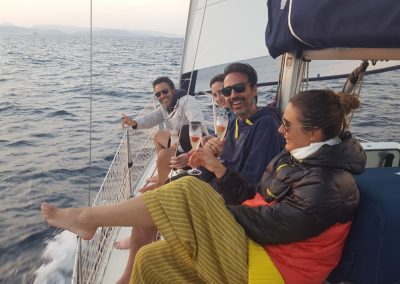 Alquier de velero por Formentera